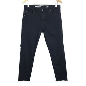 Adriano Goldschmied The Farrah Ankle Black Jeans